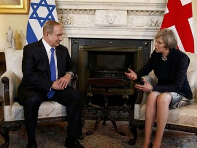 Netanyahu y May